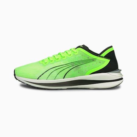 Zapatos para correr Electrify Nitro para hombre, Green Glare-Puma Black, pequeño