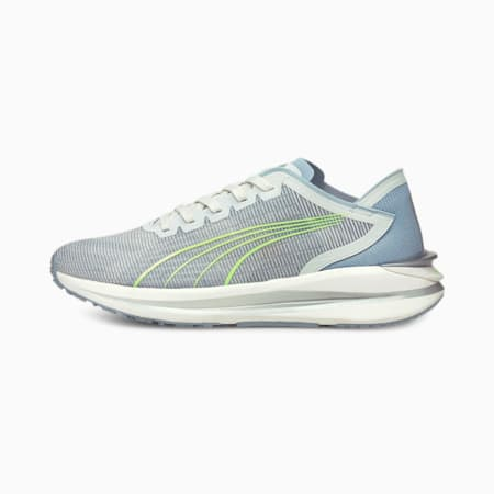 Zapatos para correr Electrify Nitro para mujer, Nimbus Cloud-Blue Fog, pequeño