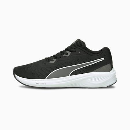 Aviator Running Shoes, Puma Black-CASTLEROCK, small-GBR