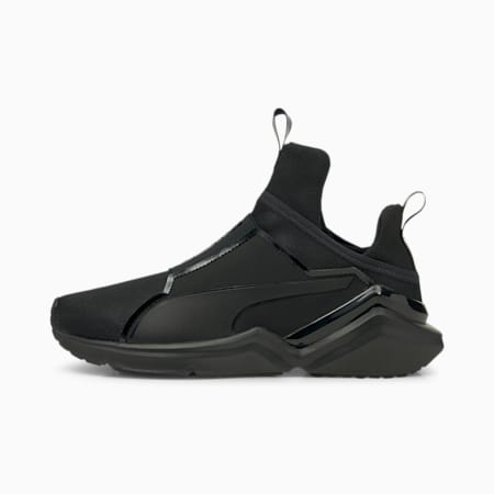 Fierce 2 Women's Training Shoes, Puma Black-Metallic Silver, small-IND