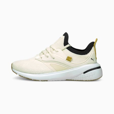 Zapatos de entrenamiento PUMA x FIRST MILE Forever XT Utility para mujer, Ivory Glow-Puma Black, pequeño