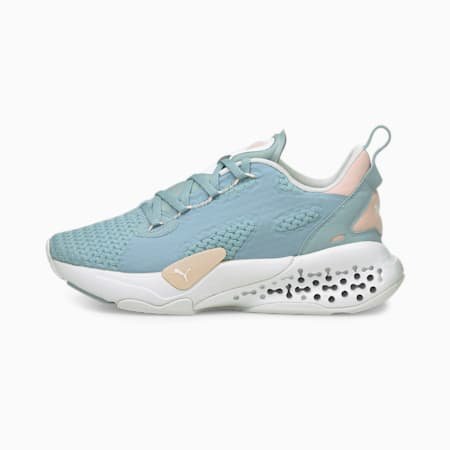 XETIC Halflife Summer Pastel Women's Running Shoes, Blue Fog-Lotus, small