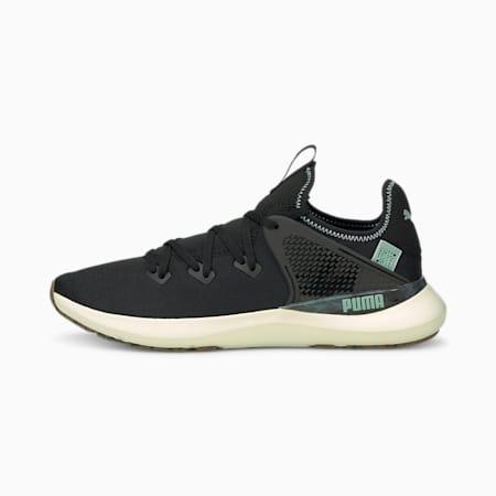 Zapatos de entrenamiento PUMA x FIRST MILE Pure XT Utility para hombre, Puma Black-Jadeite, pequeño