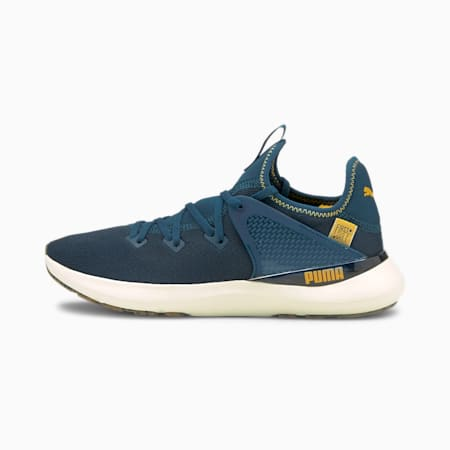 Pure XT FM Utility Men's Training Shoes, Intense Blue-Mineral Yellow, small-IND