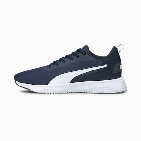 Flyer Flex Running Shoes, Peacoat-Puma White, small-GBR