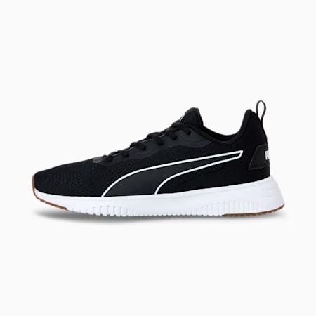 Flyer Flex Running Shoes, Puma Black-Puma White-Puma White, small-SEA