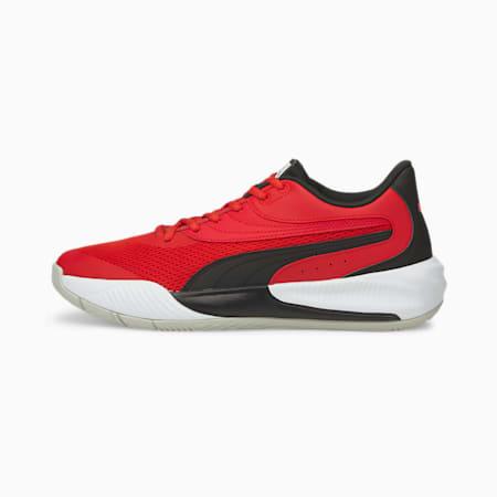 Zapatos deportivos de básquetbol Triple, High Risk Red-Puma Black, pequeño