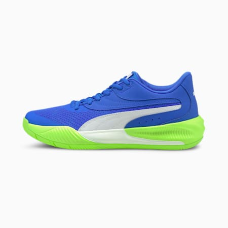 Triple Unisex Basketball Shoes, Bluemazing-Green Glare, small-IND