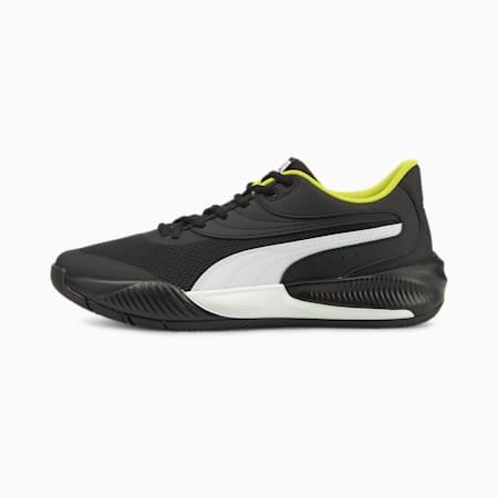 Zapatos deportivos de básquetbol Triple, Puma Black-Puma White, pequeño
