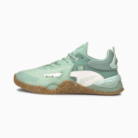 Zapatos de entrenamiento PUMA x FIRST MILE Fuse Utility para hombre, Jadeite, pequeño