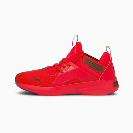 Softride Enzo NXT Men's Running Shoes, High Risk Red-Puma Black, small-GBR