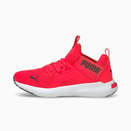 Zapatos para correr Softride Enzo NXTpara mujer, Sunblaze-Puma Black, pequeño