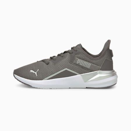 Zapatos de entrenamiento Platinum Shimmer para mujer, CASTLEROCK-Metallic Silver, pequeño