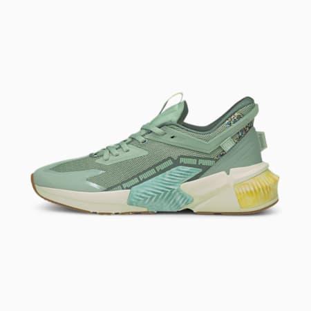 Zapatos de entrenamiento PUMA x FIRST MILE Provoke XT Utility para mujer, Jadeite-Balsam Green, pequeño
