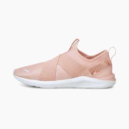 Zapatos de entrenamiento sin cordones Prowl Pastel para mujer, Lotus-Rose Gold, pequeño