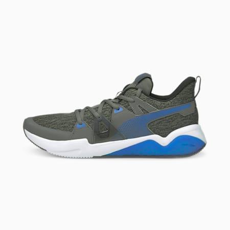Zapatos para correr de punto Cell Fraction para hombre, Future Blue-Puma Black, pequeño