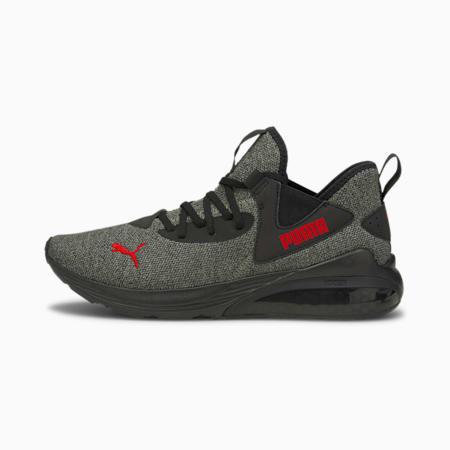 Zapatos de hombre para correr Cell Vive Luxe, Puma Black-High Risk Red, pequeño