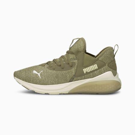Zapatos de hombre para correr Cell Vive Luxe, Covert Green-Spray Green, pequeño