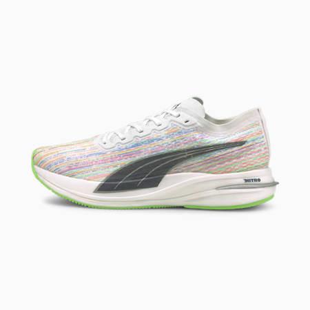 Deviate Nitro Men's Running Shoes, Puma White, small-IND