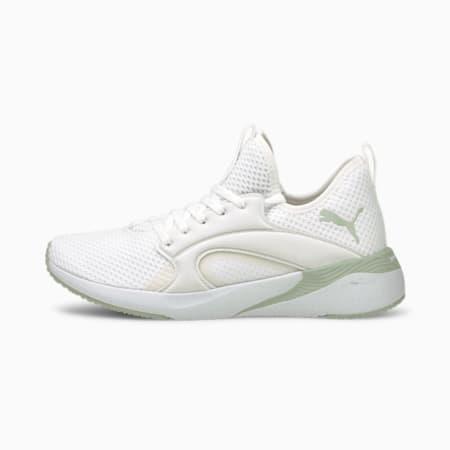Zapatos para correrBETTER FOAMAdore para mujer, Puma White-Frosty Green, pequeño