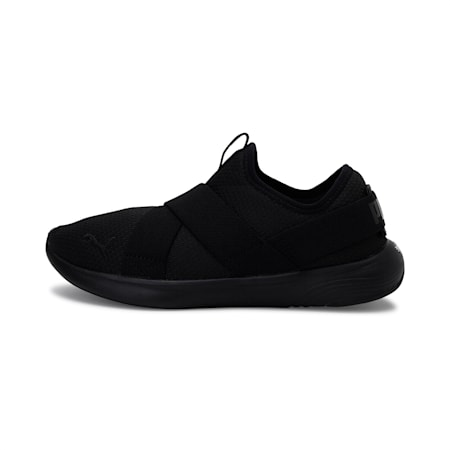 SOFTRIDE Vital Strap Women's Shoes, Puma Black-Puma Black, small-IND