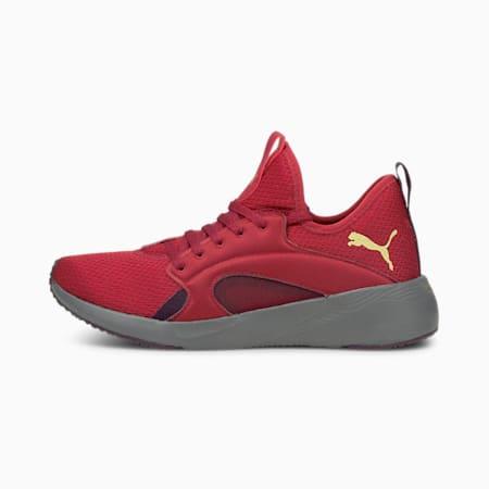 Chaussures de sport Better Foam Adore Shine, femme, Rouge intense-équipe or PUMA, petit