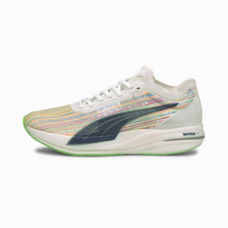 Zapatos deportivos para correr Deviate Nitro Elite Racer SP para hombre, Puma White-Green Glare, pequeño