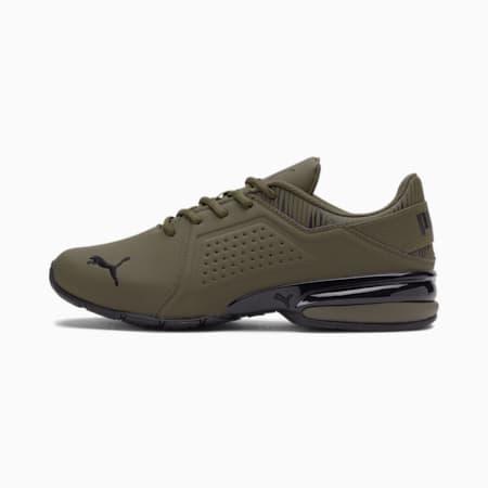 Zapatos de entrenamiento Viz Runner Graphic Wide para hombre, Grape Leaf-Puma Black, pequeño