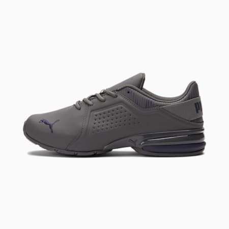 Zapatos de entrenamiento Viz Runner Graphic Wide para hombre, CASTLEROCK-Peacoat, pequeño