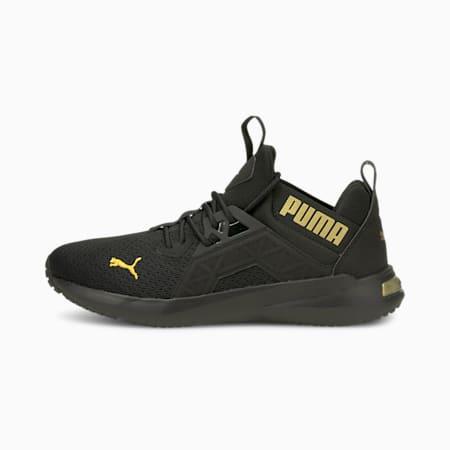 Softride Enzo NXT Shine Women's Running Shoes, Puma Black-Puma Team Gold, small-GBR
