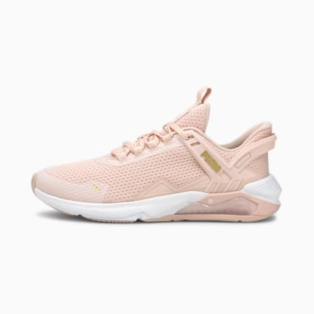 LQDCell 2.0 Method Women's Shoes, Lotus-Puma White-Puma Team Gold, small-IND