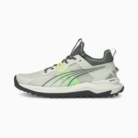 Voyage Nitro Men's Running Shoes, Nimbus Cloud-Green Glare-Asphalt, small