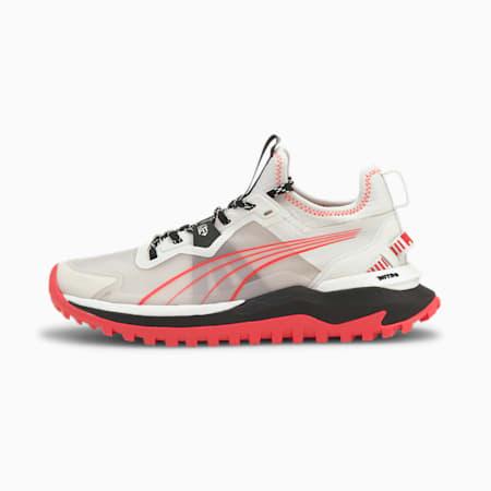 Zapatos deportivos para correr Voyage Nitro para mujer, Nimbus Cloud-Puma Black-Sunblaze, pequeño