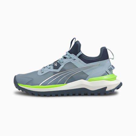Chaussures de course Voyage Nitro femme, Blue Fog-Spellbound-Metallic Silver, small