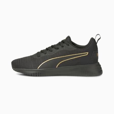 Flyer Flex Women's Running Shoes, Puma Black-Puma Team Gold, small-GBR