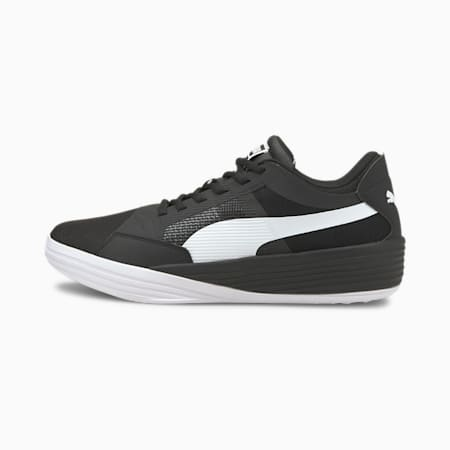 Clyde All-Pro Team Unisex Basketball Shoes, Puma Black-Puma White, small-IND