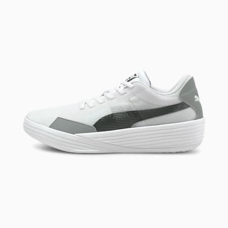 Clyde All-Pro Team Unisex Basketball Shoes, Puma White-Puma Black, small-IND