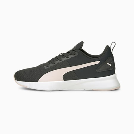 Flyer Runner Femme Women's Running Shoes, Puma Black-Lotus, small-IND