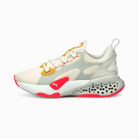 Zapatos deportivos Xetic Halflife para mujer, Ivory Glow-Sunblaze, pequeño