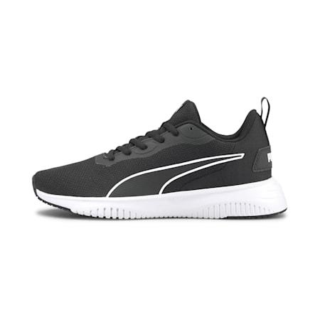 Flyer Flex Kid's Running Shoes, Puma White-Puma Black, small-IND