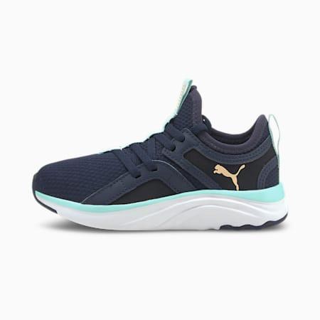 Zapatos deportivos Softride Sophiapara niño pequeño, Peacoat-Eggshell Blue-White, pequeño
