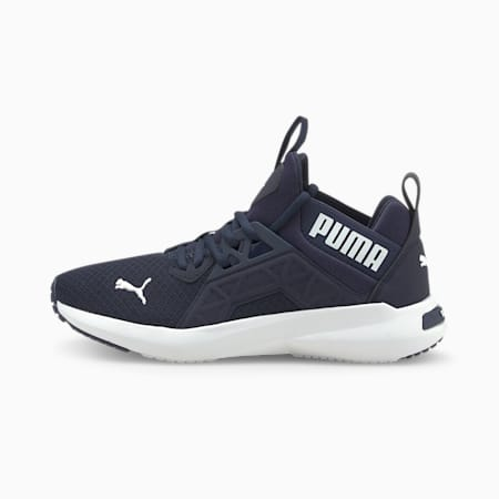 Softride Enzo NXT Youth Trainers, Peacoat-Puma White, small-GBR