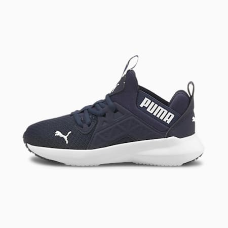 Softride Enzo NXT Kids' Trainers, Peacoat-Puma White, small