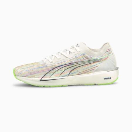 Liberate Nitro SP Women's Running Shoes, Puma White-Green Glare, small