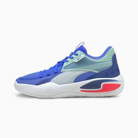 Court Rider I Zapatos para básquetbol, Bluemazing-Eggshell Blue, pequeño