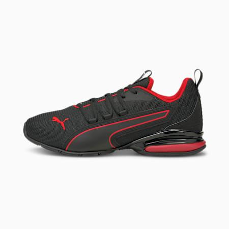Axelion NXT Men's Running Shoes, Puma Black-Urban Red, small-GBR