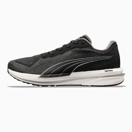 Velocity NITRO Women's Running Shoes, Puma Black-Puma Silver, small-SEA