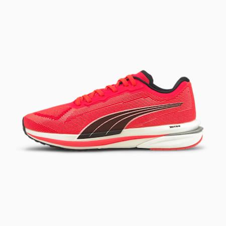 Velocity NITRO Women's Running Shoes, Sunblaze-White-Black, small-SEA