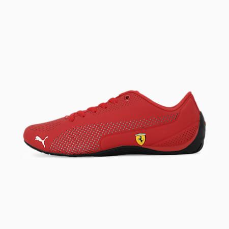 SF Drift Cat 5 Ultra Unisex Shoes, Rosso Corsa-Puma White-Black, small-IND