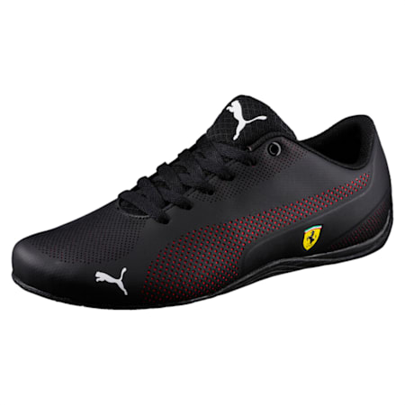 "<h1><span style=""font-size: 12px;"">Scuderia Ferrari Drift Cat 5 Ultra Unisex Shoes</span></h1>, Puma Black-Rosso Corsa-Puma Black, small-IND"